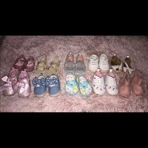 3m-12m baby shoes (sandals, sneakers, boots)